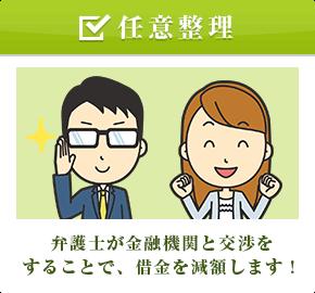 【任意整理】弁護士が金融機関と交渉をすることで、借金を減額します!
